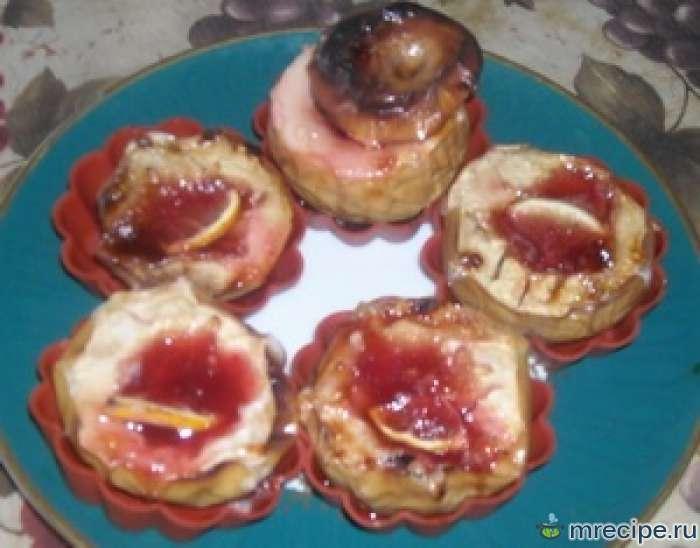 Печеные яблоки в чудо-сковороде ГрильГаз