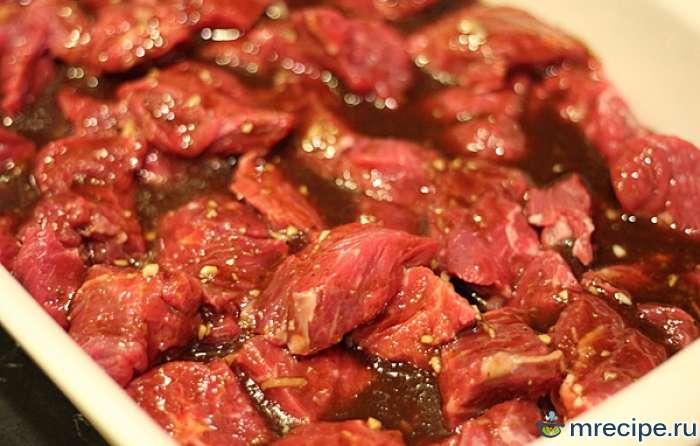 Простой маринад для мяса дичи