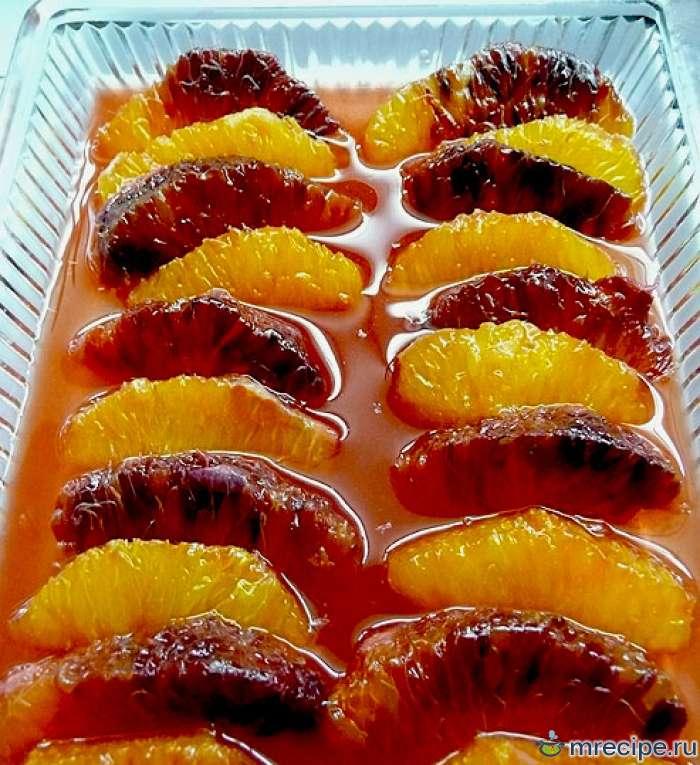 Соус с апельсинами