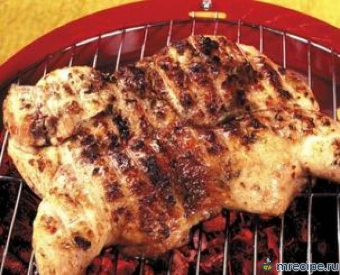 Цыпленок на решетке по-американски