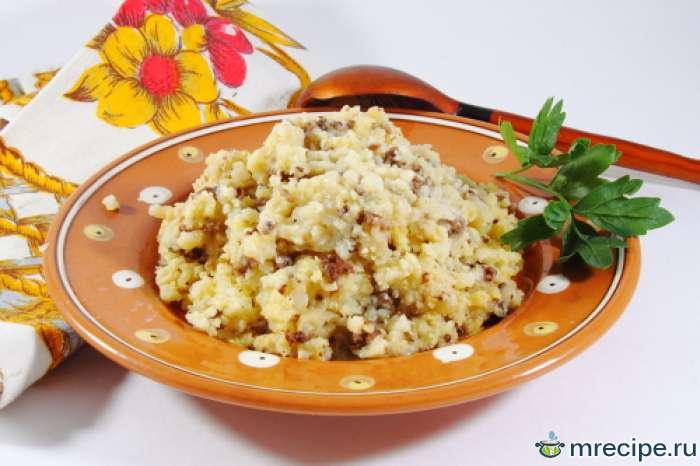 Каша рисовая с растительным маслом  - Яглы шуле
