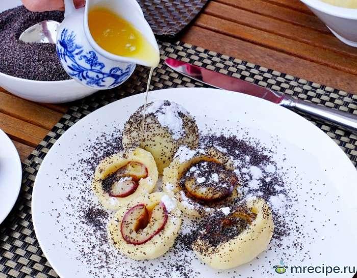 Картофельные крокеты со сливами по-австрийски