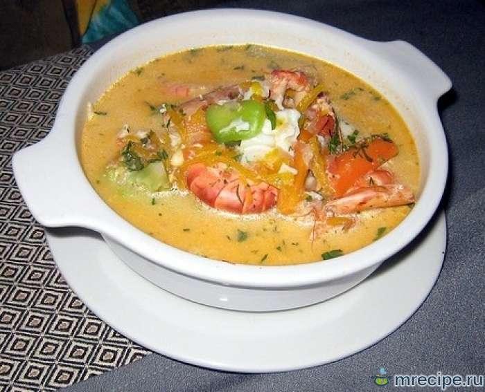 Перуанский суп