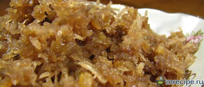 Айнгемахц  - редька, варенная в меду