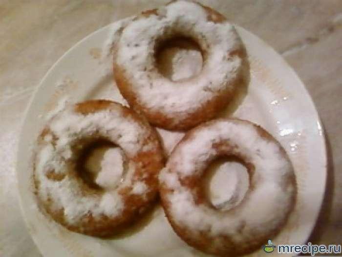 """""""Воздушные пончики"""" - творожные колечки"""